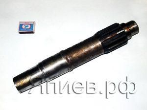 Вал сцепления Енисей короткий (380 мм; 14 шлицов; 7,1 кг) 444-2103 ац