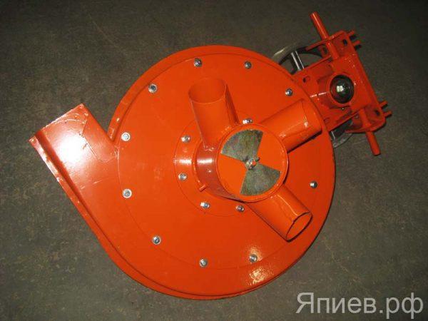 Вентилятор СУПН-8А н/о (оранжевый; со шкивом; без ремня) 509.046.7040 (У) ф