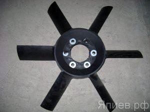 Вентилятор МТЗ 6 лопастей  (белый пластик) 245-1308010 (ММЗ) зр