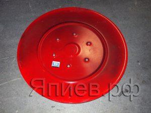 Диск скользящий (нижний) косилки 1,65 (П) (d=765 мм) (красный) 8245-036-010-528