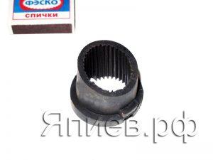 Амортизатор рулевого вала МТЗ (резин.) 70-3401077 (У) аб