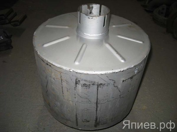 Глушитель ХТЗ (ЯМЗ) (лепестки) (9,4 кг) 150.10.012А (У) фв