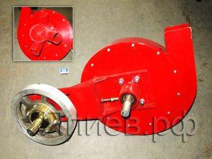 Вентилятор СУПН-8А н/о (красный; со шкивом; с ремнем) 509.046.6150-Т (У) зд