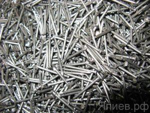 Гвозди 1,6*25 мм (5кг), кг
