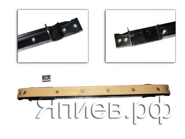 Направляющая цепи транспортера НК Акрос, Вектор в сборе с накладкой 3518060-18100 (АН)