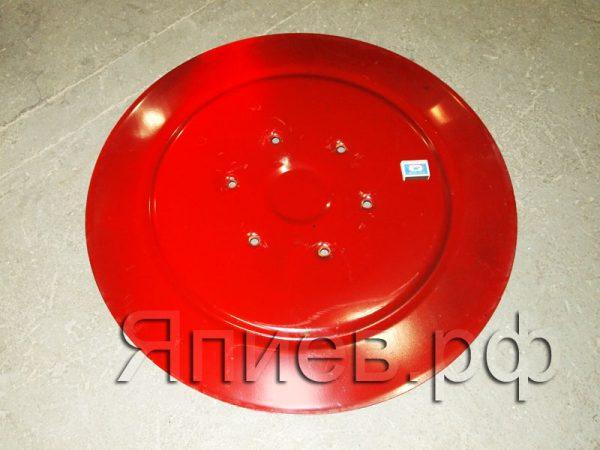 Диск скользящий (нижний) косилки 1,85 (Wirax) (d=860 мм) (красный) (17,3 кг) 8245-036-010-528
