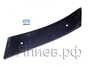 Нож плуга ПСКу вертикальный (577*105*10 мм) (4.2 кг) 8.05.00.03 (РЗЗ) ав
