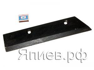 Нож плуга ПСКу правый (410*90*10 мм) (2,5 кг) 8.05.00.01 (РЗЗ) ав
