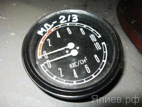 Манометр давления воздуха Т-150 двухстрелочный МД-213