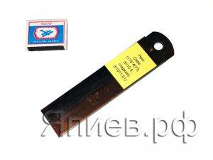 Нож соломоизмельчителя Case (175*40*3 мм; d=10,5; гладкий) (51011.01)