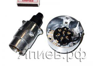 Вилка + розетка ПС-300 (металл) (Автоэлектрика) (К) хм
