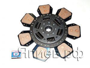 Диск сцепления лепестковой корзины МТЗ (7 лепестков; с пружинами) 332001410 (LUK) пв