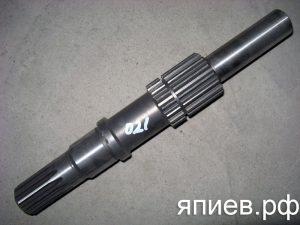 Вал привода ВОМ МТЗ ведомый 70-1601021